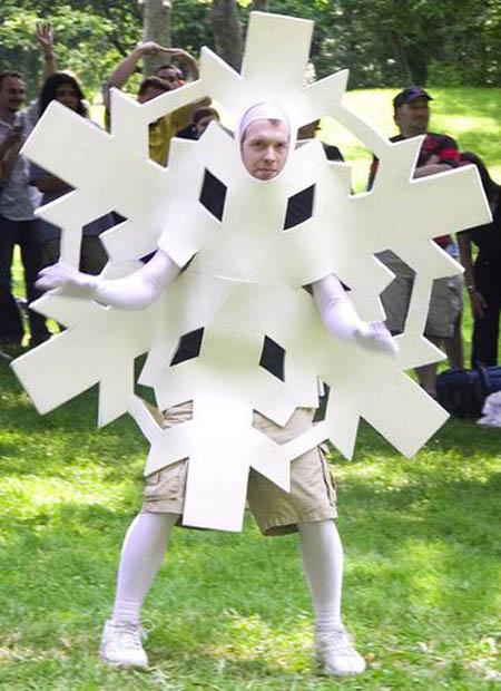 snowflake christmas costume