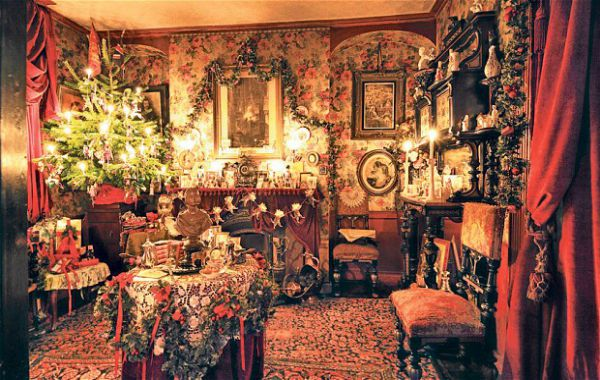 Top 40 victorian christmas decorations to get you started for Autrefois decoration
