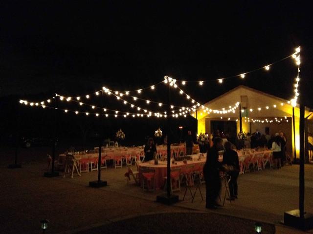 Wedding Reception With Cafe Bistro