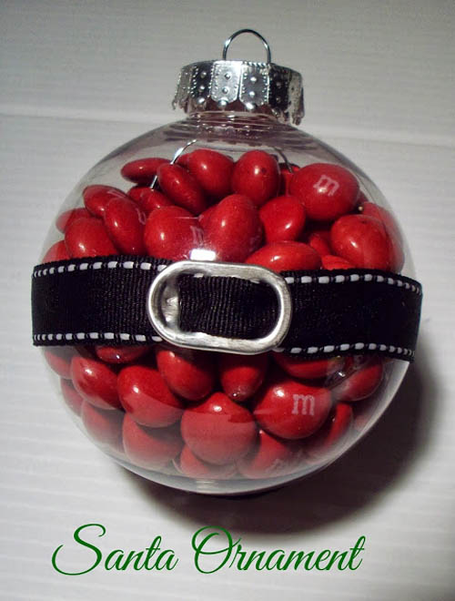 Christmas Party Favours Ideas Part - 45: You Can Also Experiment When It Comes To Your Christmas Party Favors.  Hereu0027s A Great Diy Christmas Party Favor Idea. Turn Your Clear Christmas  Bauble Into A ...