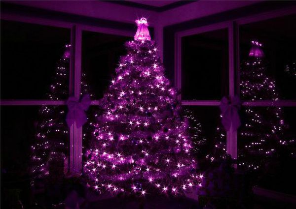 Top Purple Christmas Trees Decorations