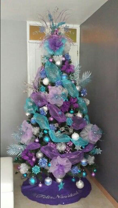 Top Purple Christmas Trees Decorations Christmas