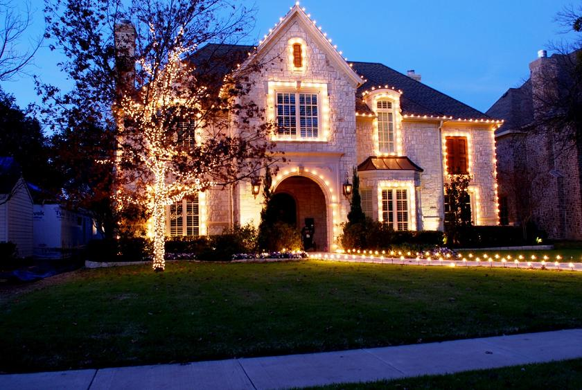 best outdoor christmas light decor ideas