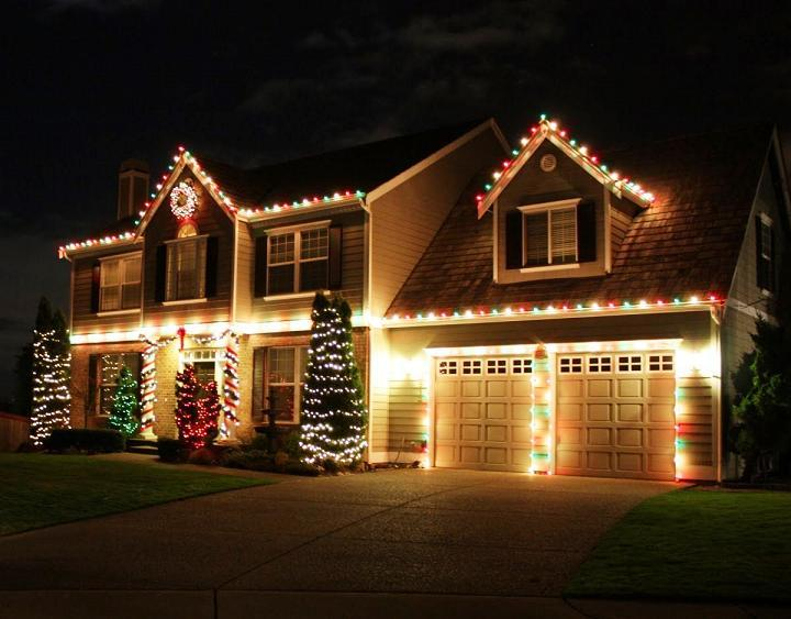 best outdoor christmas light decorating