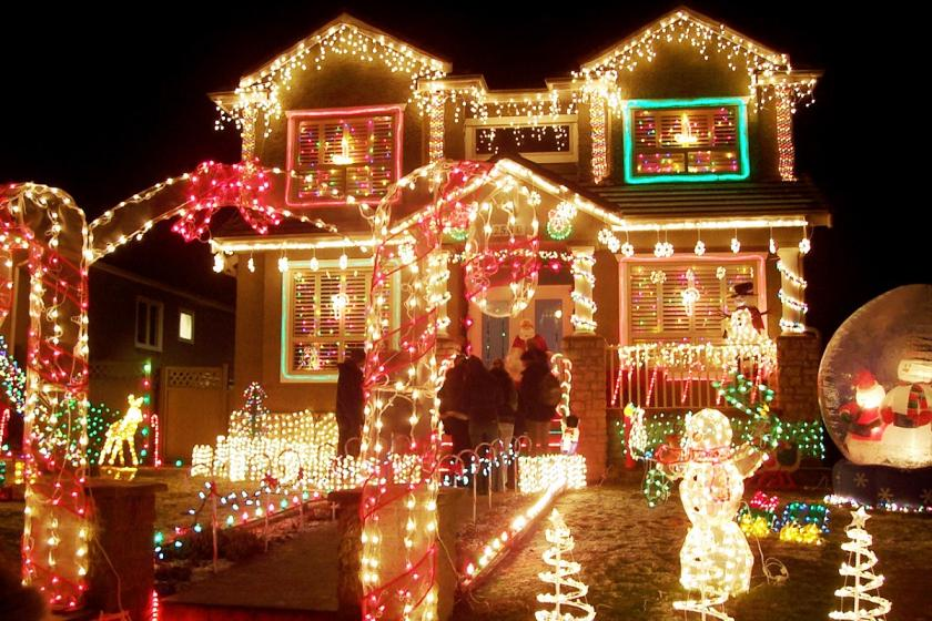 outdoor christmas light ideas 2014 - Large Outdoor Animated Christmas Decorations