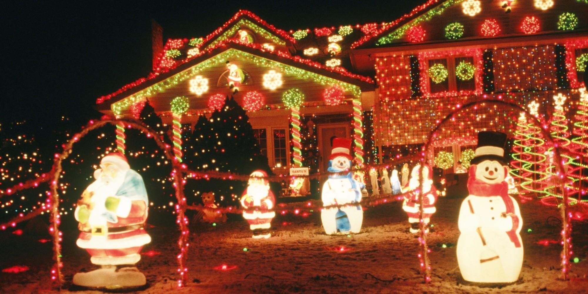 Mind blowing christmas lights ideas for outdoor christmas Outdoor christmas decorations designs