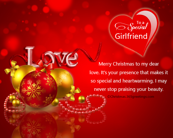 Christmas Messages For Girlfriend Christmas Celebration All