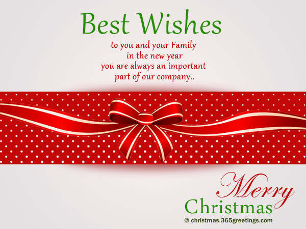 Christmas Messages for Employees - Christmas Celebration