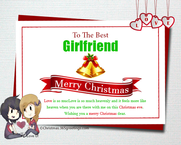 Christmas Messages for Girlfriend - Christmas Celebration - All