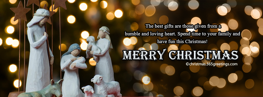 Top christmas facebook covers for timeline christmas for Holiday themed facebook cover photos