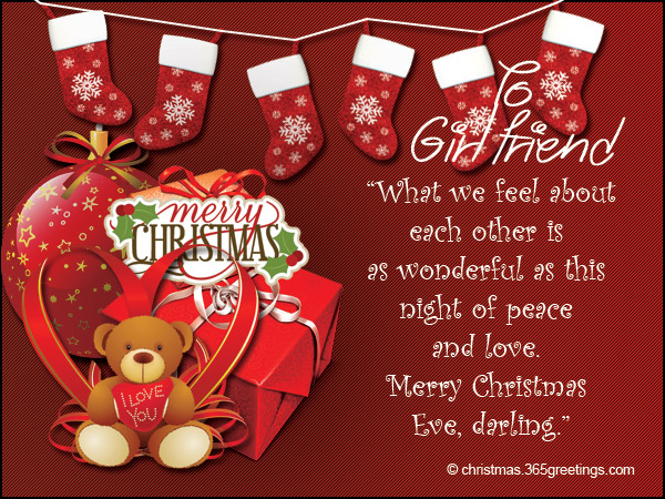Christmas Messages for Girlfriend - Christmas Celebration - All ...