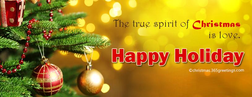 Christmas Spirit Facebook Cover