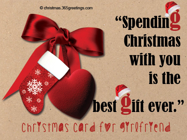 Christmas Messages For Girlfriend   Christmas Celebrations