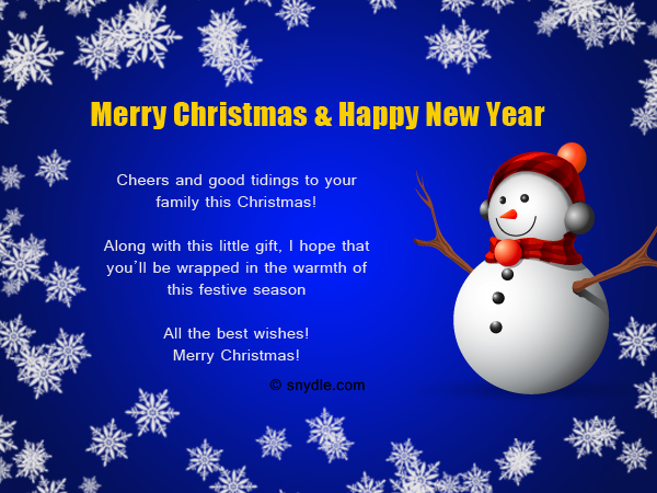 Christmas Messages for Employees - Christmas Celebration - All about ...