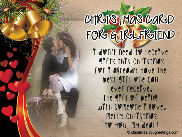 Christmas Messages for Girlfriend - Christmas Celebrations