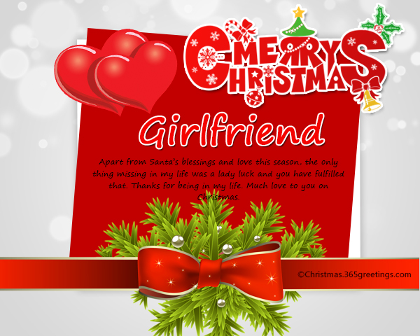 Merry Christmas Letter Y.Christmas Messages For Girlfriend Christmas Celebration