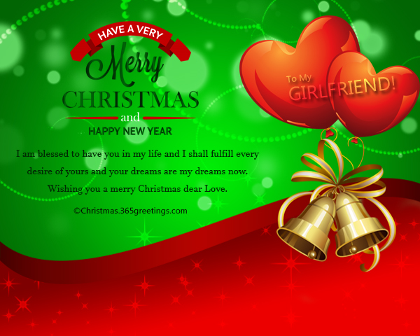Christmas Messages for Girlfriend - Christmas Celebration