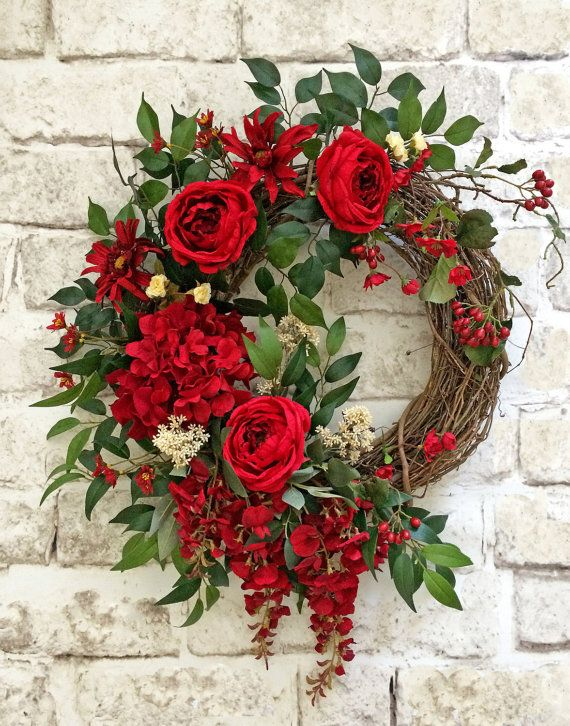 Fresh Red Wreath