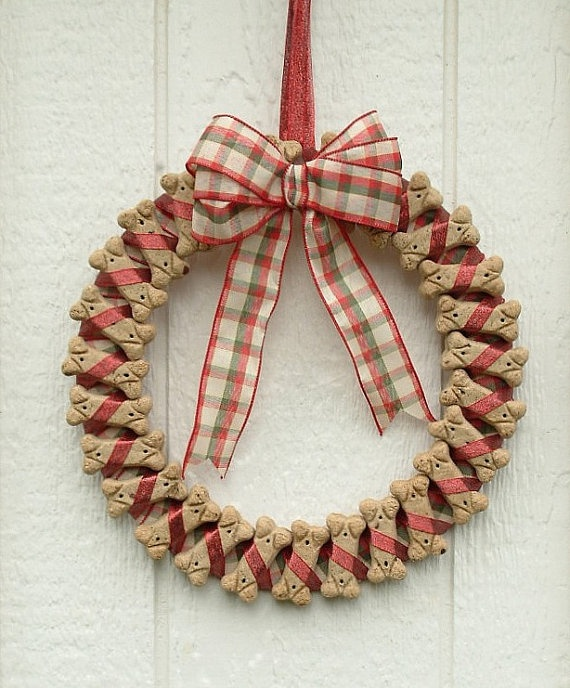 Doggie Biscuit Wreath