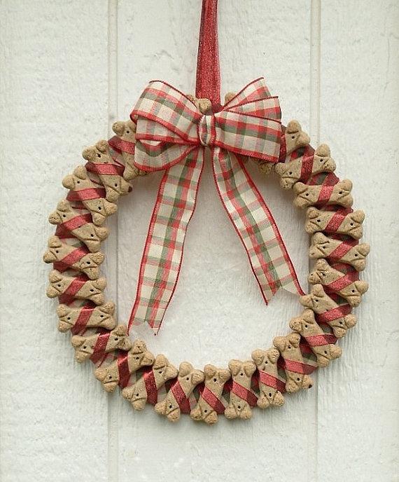 Doggie Biscuit Wreath