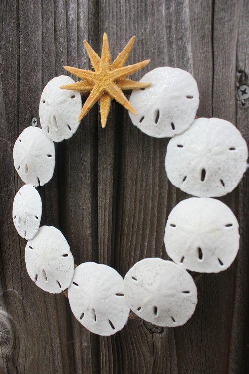 Sand Dollar Wreath
