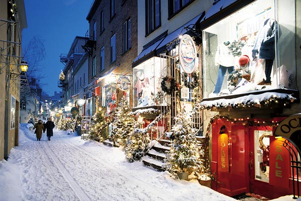 White Christmas In Canada.10 Most Beautiful Places For White Christmas Christmas