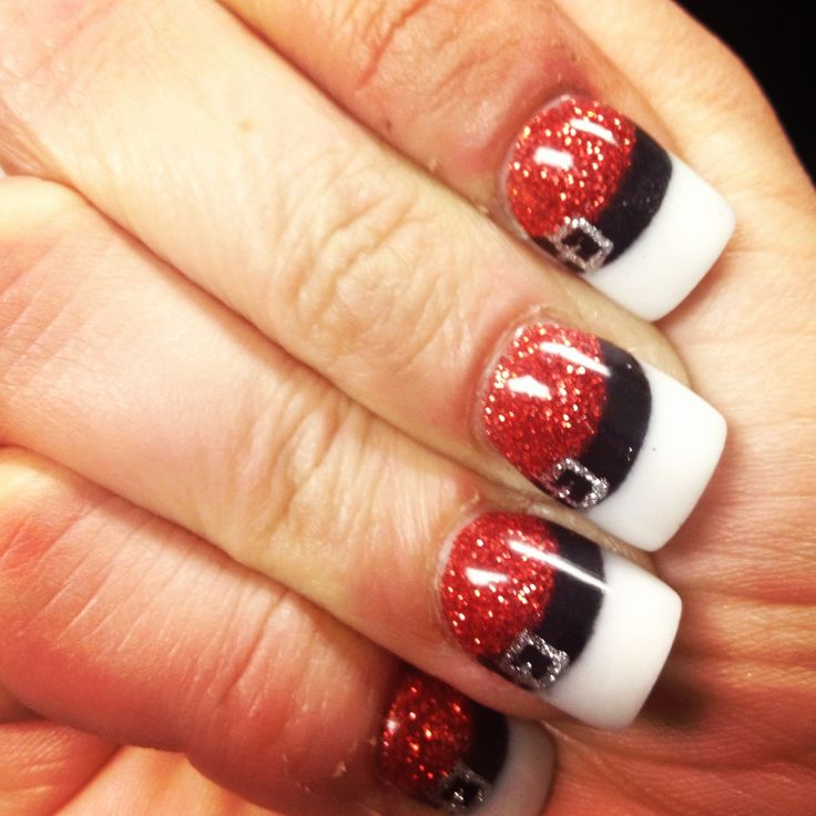 25 Most Beautiful and Elegant Christmas Nail Designs – Christmas ...