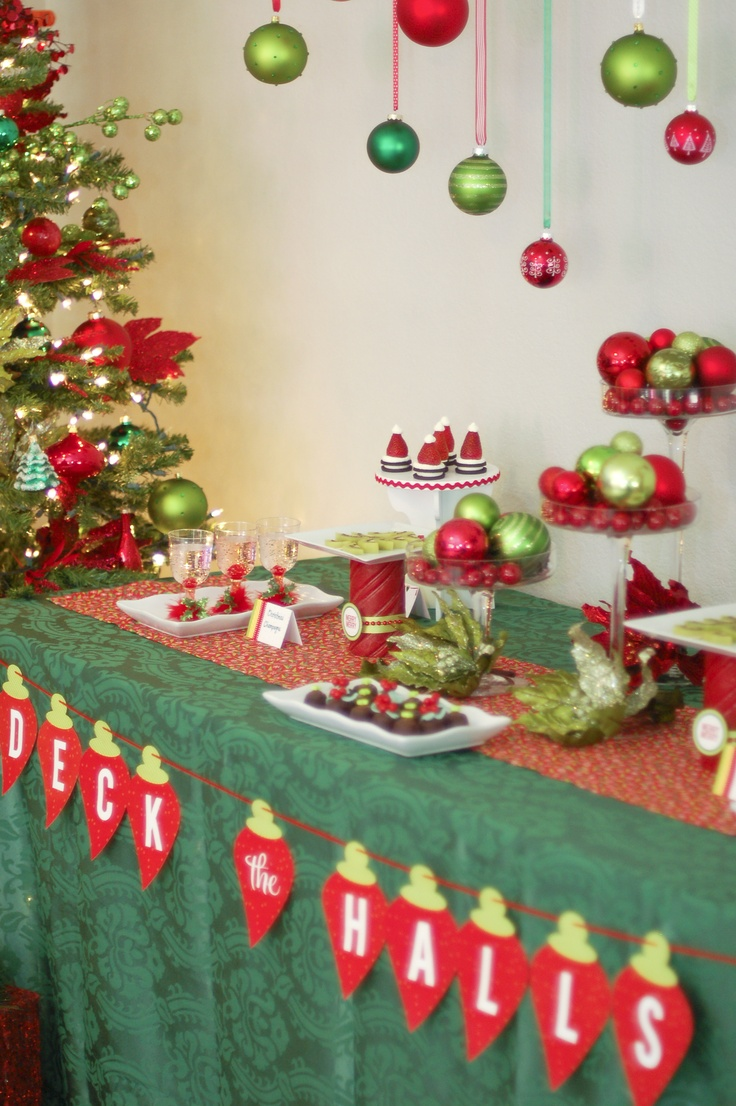 Christmas party decoration ideas adults - Christmas Decor