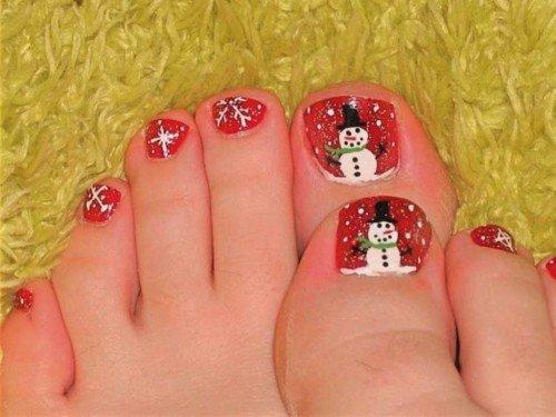 Christmas Toe Nail Designs 18
