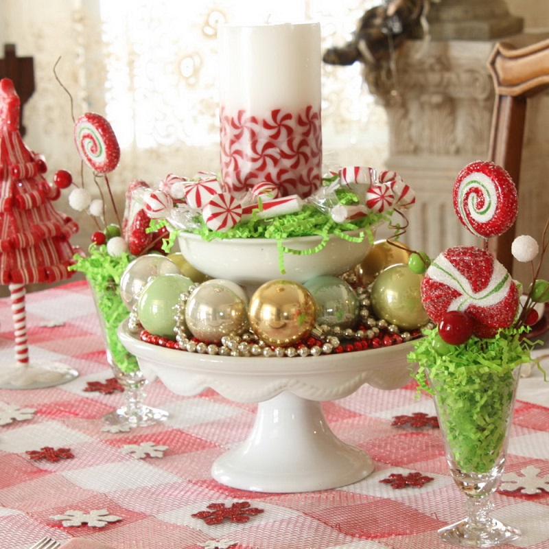 Top christmas table decorations on search engines Diy christmas table decorations
