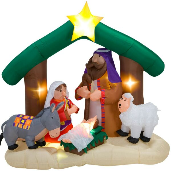Nativity Scene Inflatable