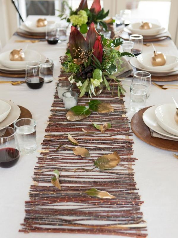 Twig Table Runner Image Source