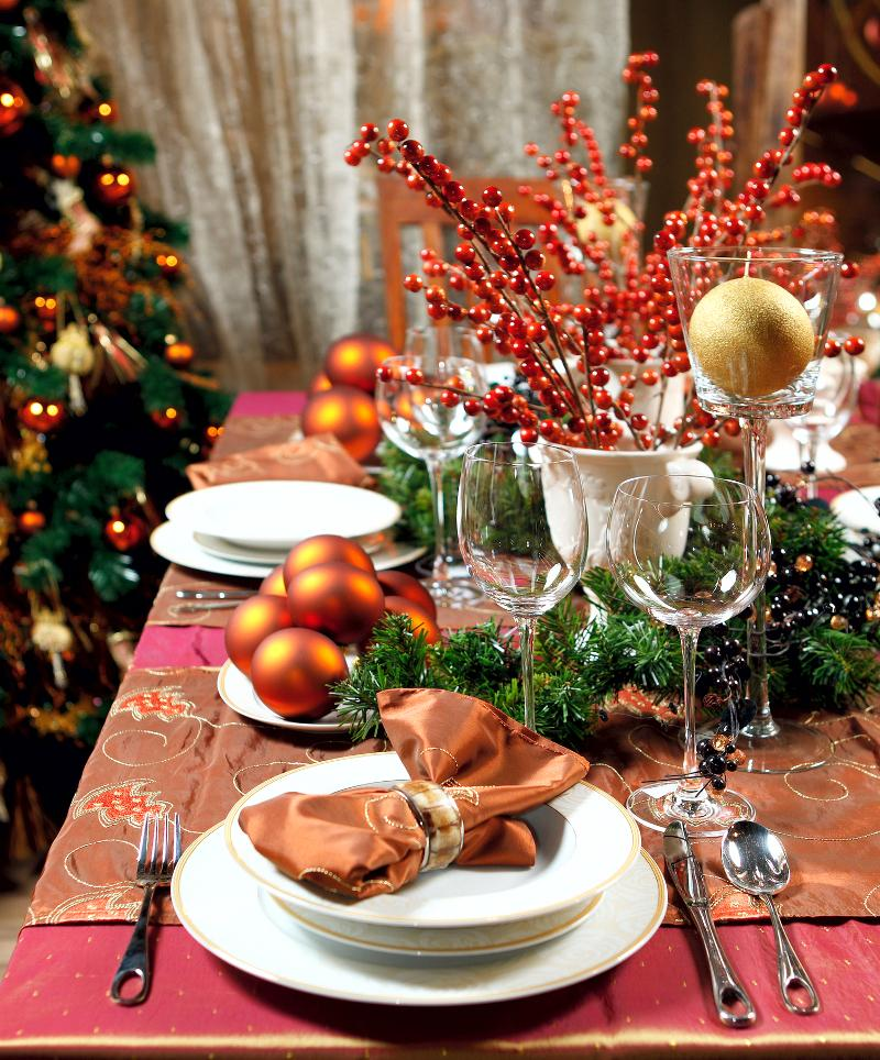 Beautiful Christmas Dinner Table Christmas Celebration All About