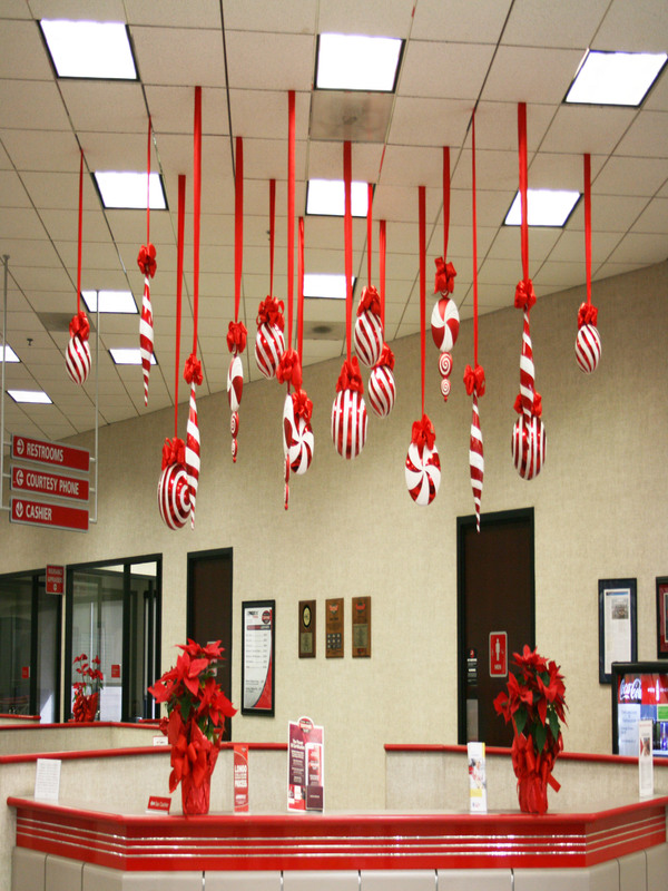 candycane - Christmas Theme Office Decorating Ideas