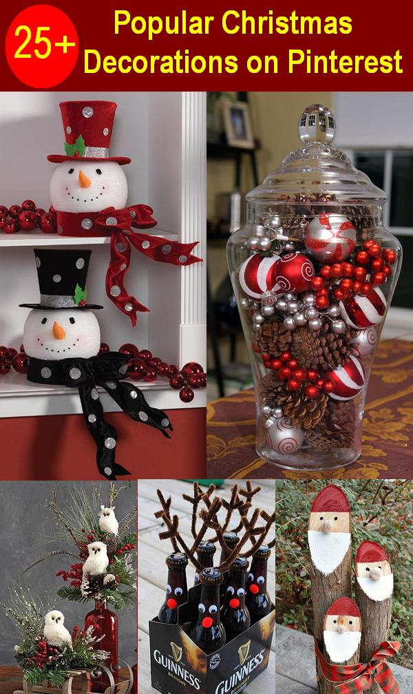 most popular christmas decorations on pinterest christmas celebration all about christmas
