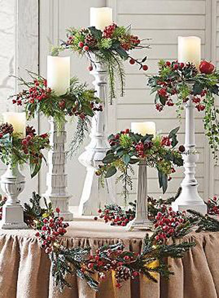 Most popular christmas decorations on pinterest for Christmas home decorations pinterest