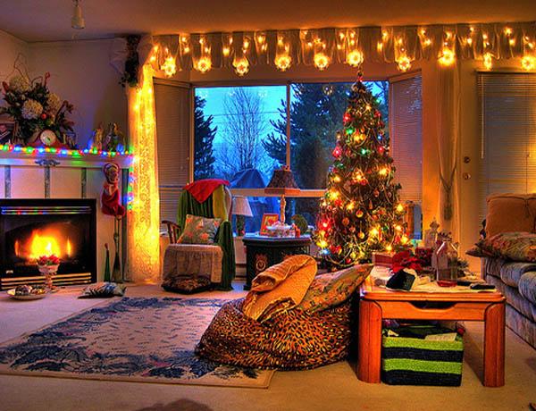 Christmas Living Room Decorations 10