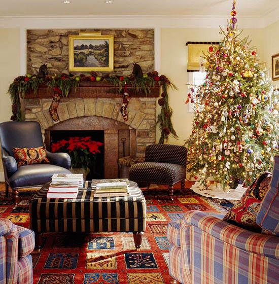 christmas-living-room-decorations-11