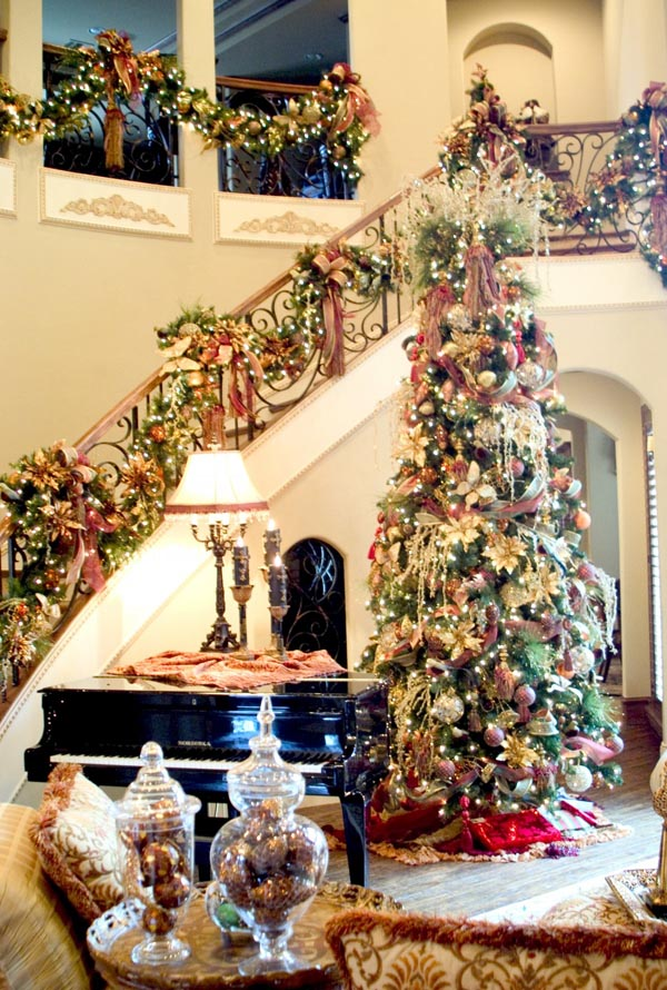 Christmas Tree Living Room christmas living room decorating ideas