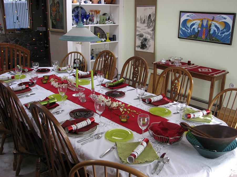 christmas-table-decor & Top 50 Christmas Tablescapes - Christmas Celebration - All about ...