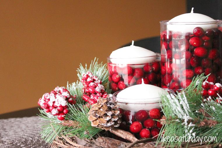 Christmas Table Decorations 26 For Chic Furniture Ideas