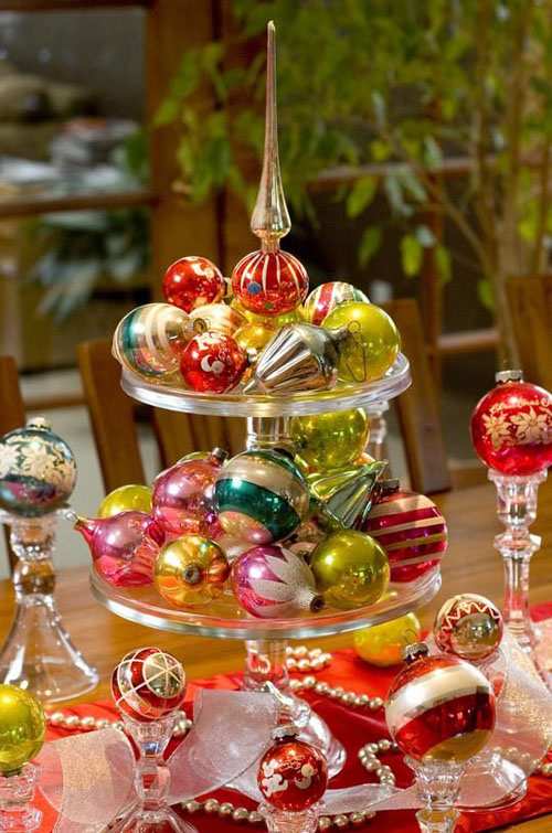 christmas table decorations pinterest 15 - Pinterest Christmas Table Decorations