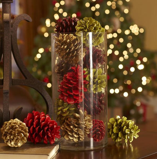 christmas table decorations pinterest 19