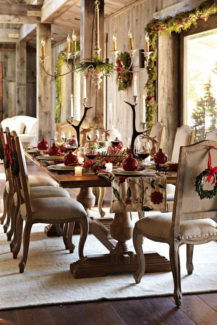 Top 50 Christmas Tablescapes - Christmas Celebration - All ...