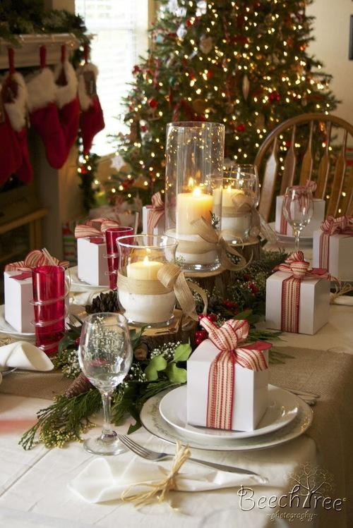 Top 50 Christmas Tablescapes Christmas Celebration All