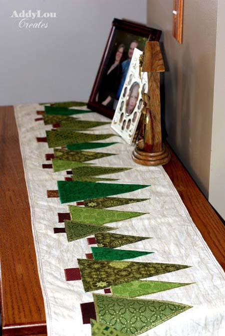 Christmas Table Runner Quilt.Top 45 Most Beautiful Christmas Table Runners Christmas