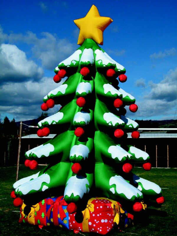 christmas tree inflatable