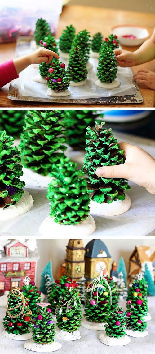 22 beautiful diy christmas decorations on pinterest Christmas decorating diy