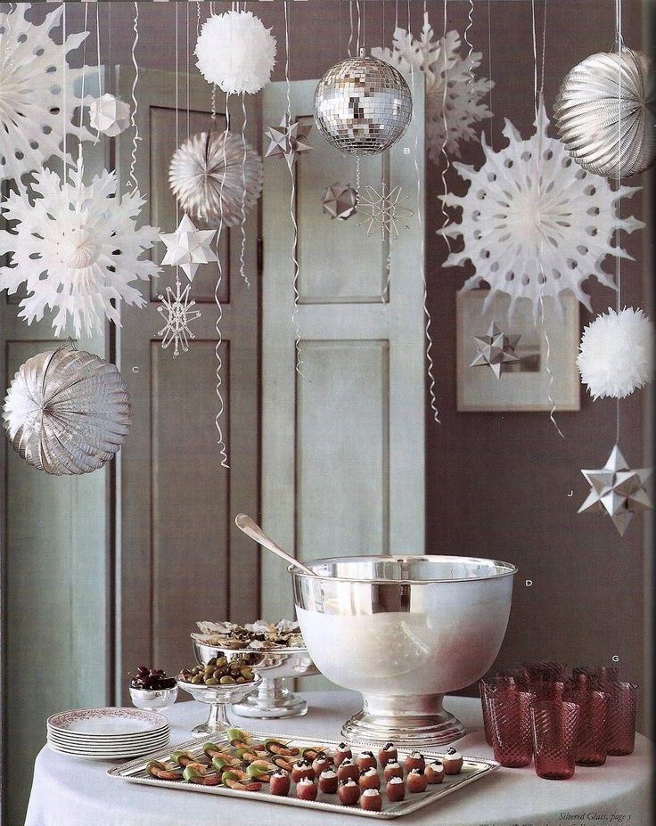 christmas decoration ideas - Christmas Party Decorations