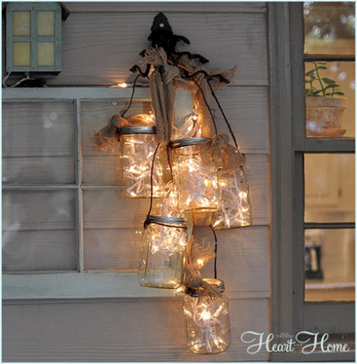 Diy Lighting Ideas: Christmas Decorating With Mason Jars
